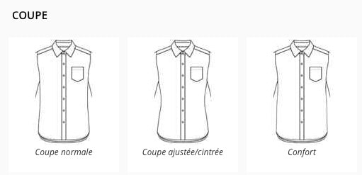 coupe chemise